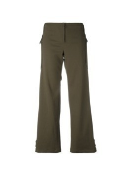 Romeo Gigli Pre-Owned twill trousers - Green