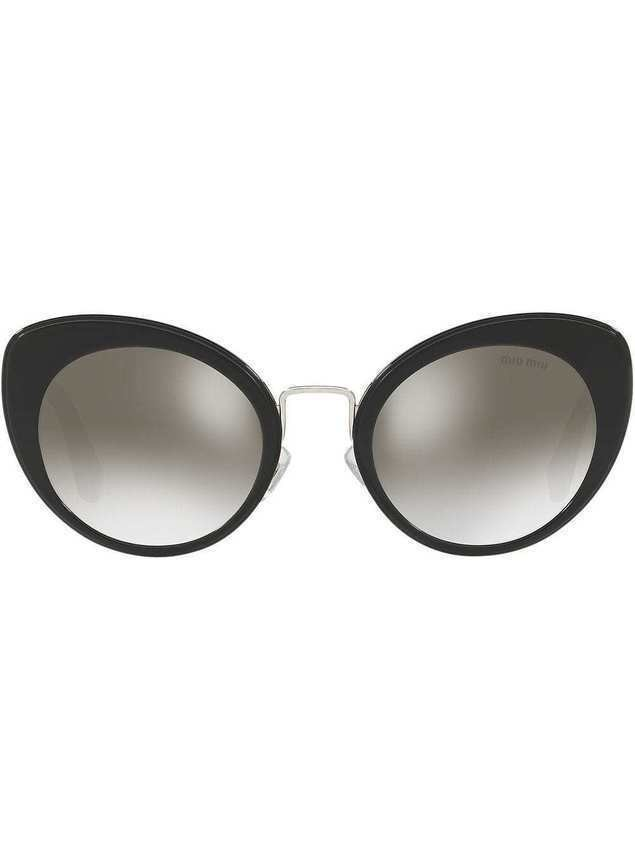 Miu Miu Eyewear cat eye sunglasses - Black