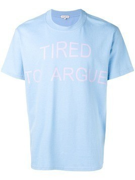 Natasha Zinko Tried To Argue T-shirt - Blue
