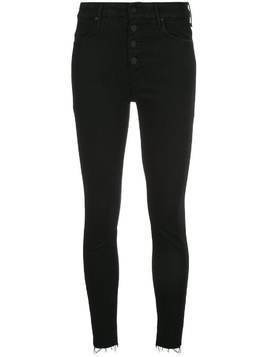 Mother Mother high-rise skinny jeans - Black