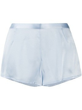 La Perla silk shorts - Blue