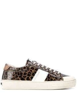 Moa Master Of Arts animal-print low-top sneakers - Brown