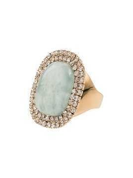 Rosantica Blue stone crystal ring - Gold
