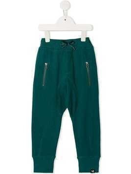 Molo zipped pocket joggers - Green