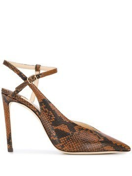 Jimmy Choo Sakeya 100 pumps - Brown