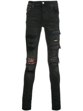 Amiri distressed skinny jeans - Black