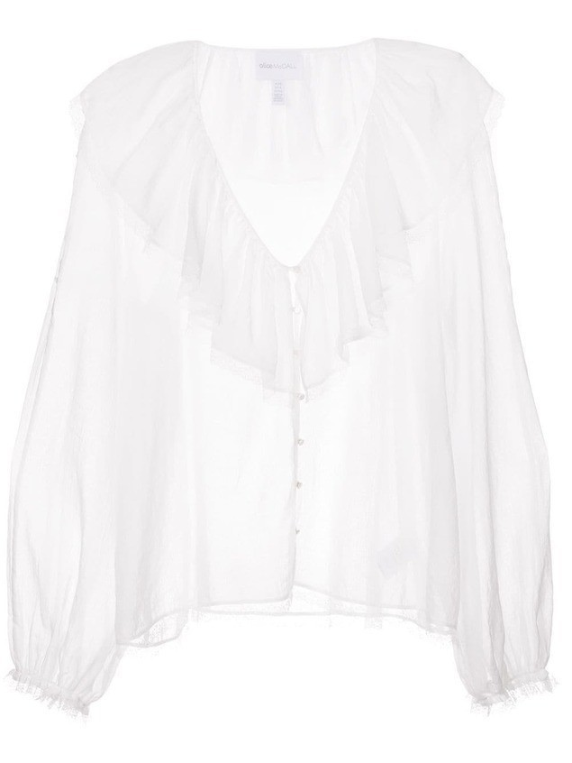 Alice Mccall Fall For You blouse - White