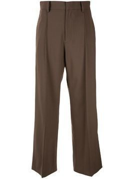 G.V.G.V. tailored straight trousers - Brown