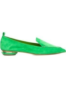 Nicholas Kirkwood 18mm Beya loafers - Green