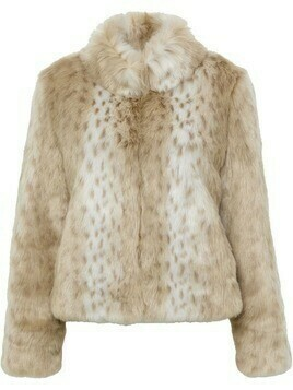 Unreal Fur Wild Thing faux fur jacket - Neutrals