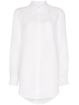 Asceno long-line shirt - White