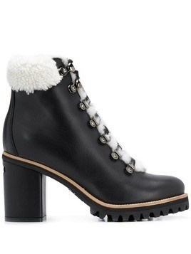 Le Silla hiking-style ankle boots - Black