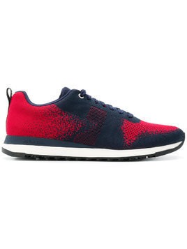 Ps By Paul Smith Rappid knitted sneakers - Red