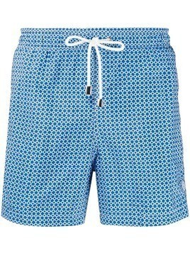 Borrelli printed swim trunks - Blue