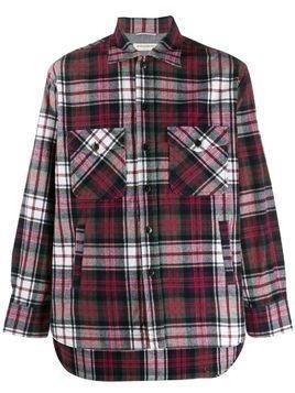 Al Duca D'Aosta 1902 plaid pattern shirt - Blue