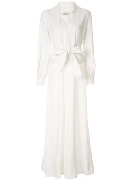 Co belted wide-leg jumpsuit - White
