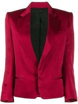 Haider Ackermann colour block blazer - Red