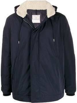 Moncler Theolier hooded coat - Blue