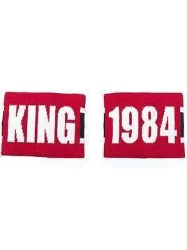 Dolce & Gabbana King sweatbands - Red