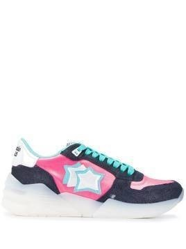 Atlantic Stars Venusc contrasting panel sneakers - Blue
