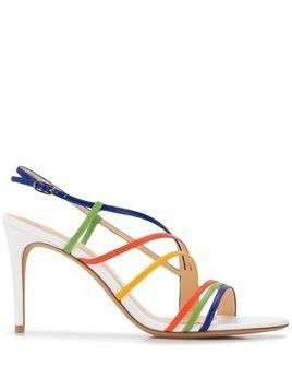 Alexandre Birman 75 strappy sandals - White