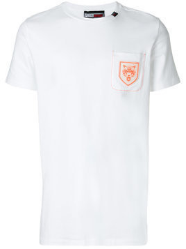 Plein Sport chest pocket sports T-shirt - White