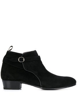 Lidfort buckle ankle boots - Black