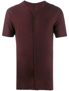 Isaac Sellam Experience pleat detail T-shirt - Red