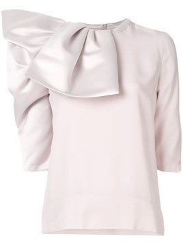 Dice Kayek folded blouse - Pink
