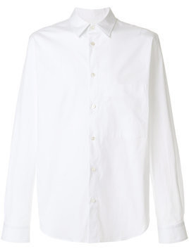 Golden Goose Deluxe Brand - classic long sleeve shirt - Herren - Cotton/Spandex/Elastane - L - White
