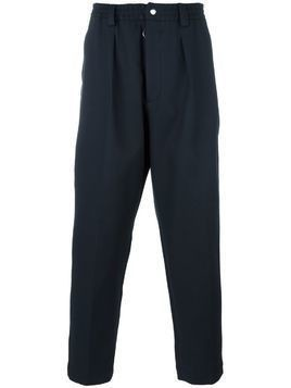 Matiéres elasticated waistband trousers - Blue
