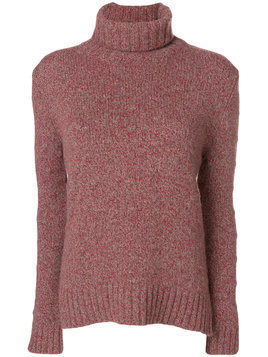 Borgo Asolo turtle neck jumper - Red