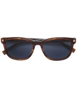 Ermenegildo Zegna square frame sunglasses - Brown