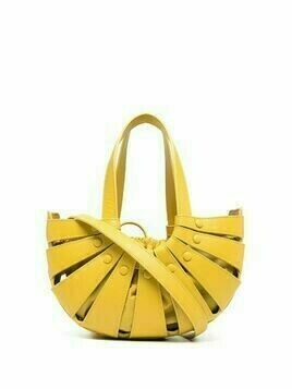 Bottega Veneta The Shell shoulder bag - Yellow