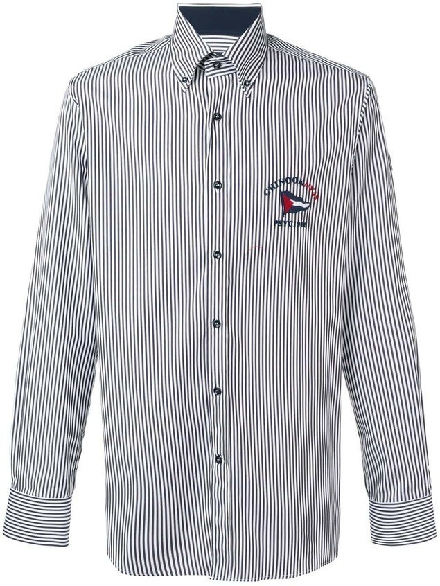 Paul & Shark striped shirt - Blue