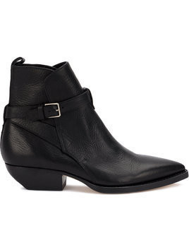 Saint Laurent Blake signature boots - Black