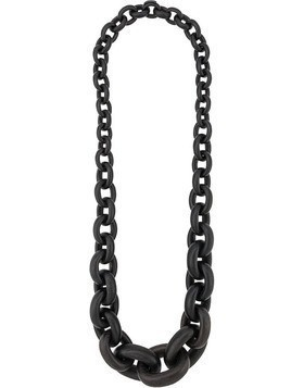Monies oversized chain necklace - Black