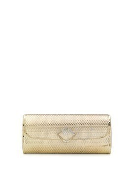 A.N.G.E.L.O. Vintage Cult 1970s barrel structured clutch - Gold