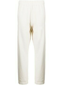 GANNI elasticated-waist track pants - White