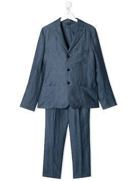 Emporio Armani Kids slim-fit two piece suit - Blue