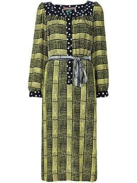 Duro Olowu printed tunic dress - Black