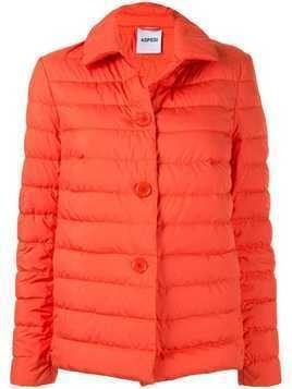 Aspesi padded button jacket - ORANGE