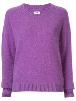 Coohem crewneck knitted jumper - PURPLE