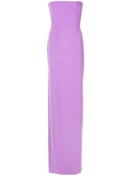 Alex Perry fitted bustier dress - Purple