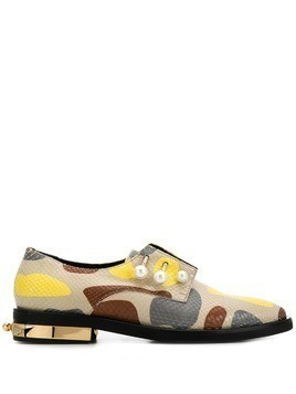 Coliac printed oxford shoes - Neutrals