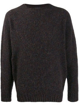 Howlin' knitted wool jumper - Brown