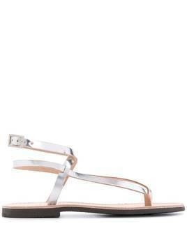 P.A.R.O.S.H. Ecly strappy sandals - Grey