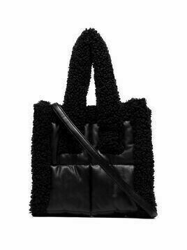 STAND STUDIO mini Liz quilt tote bag - Black