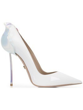 Le Silla holographic Petalo pumps - White