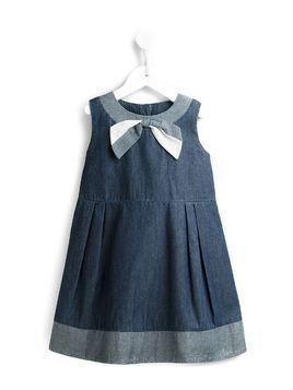 Hucklebones London chambray sun dress - Blue